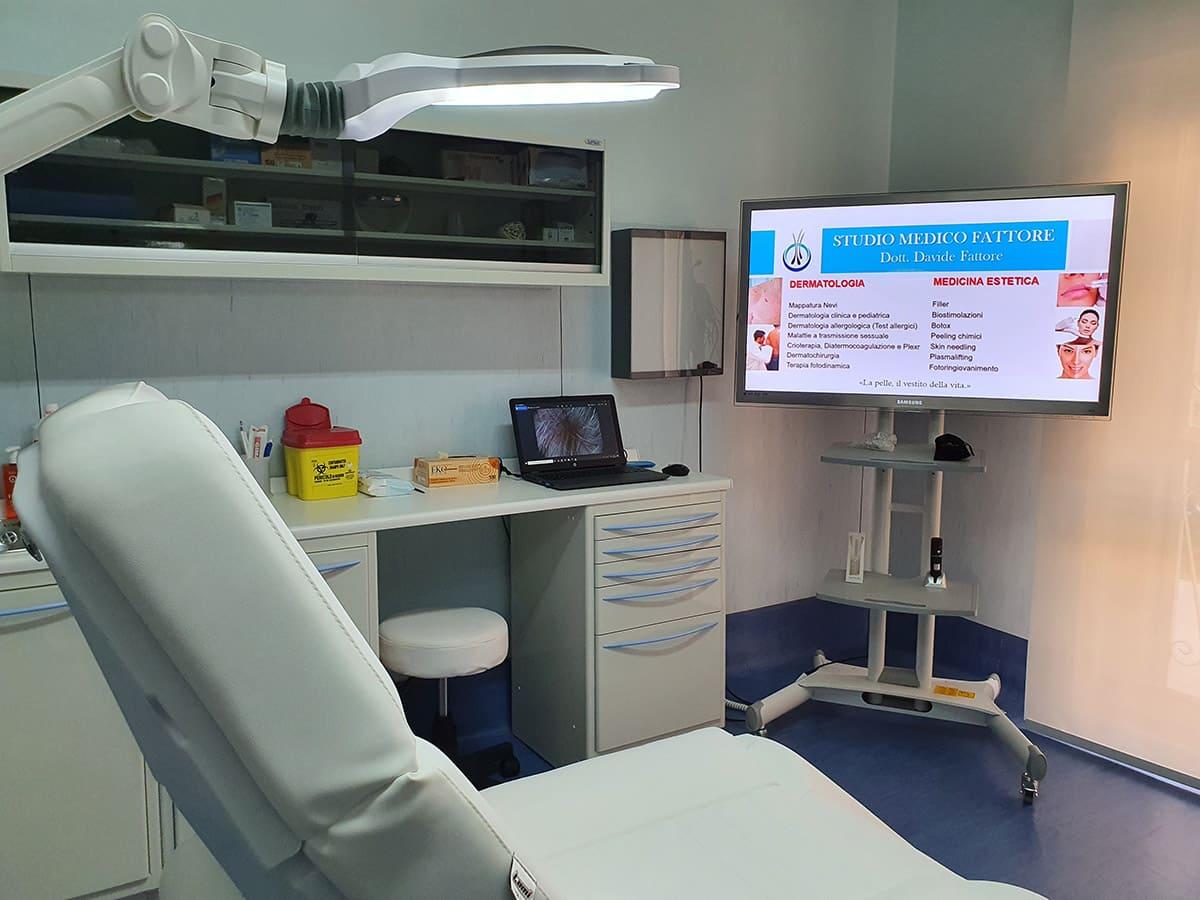 Studio Dott. Davide Fattore Dermatologo Caserta